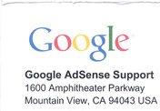Сегодня все ок + ап тИЦ + письмо от AdSense