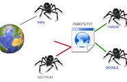 Создаем файл Robots.txt и карту сайта в XML