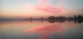 Озеро - рассвет